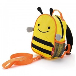 Skip Hop Zoo-let Mini Backpack With Rein - Bee