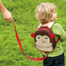 Skip*Hop Zoo-let Mini Backpack With Rein - Monkey