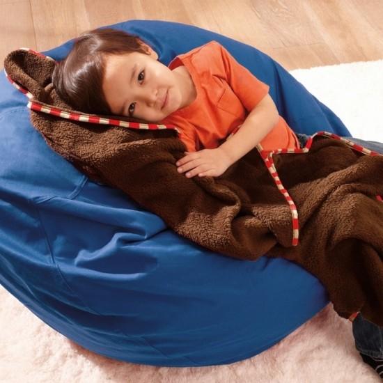 Skip*Hop Zoo Travel Blanket - Monkey
