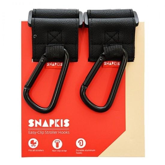 Snapkis Easy-Clip Stroller Hooks