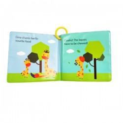 Snapkis Bath Book Gina the Giraffe