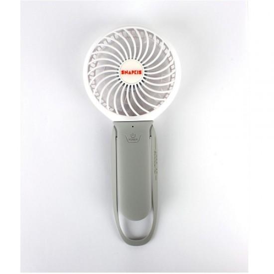 Snapkis 3-in-1Recharable Fan, Light & Powerbank