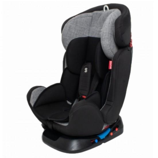Snapkis Companion 0-11 Car Seat - Melange Grey / Black