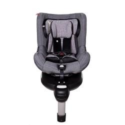 Snapkis RevolveFix 0-4 Car Seat - Grey Melange / Black