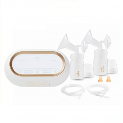 Spectra Dual Compact Rechargeable Double Breast Pump with Dual Motors