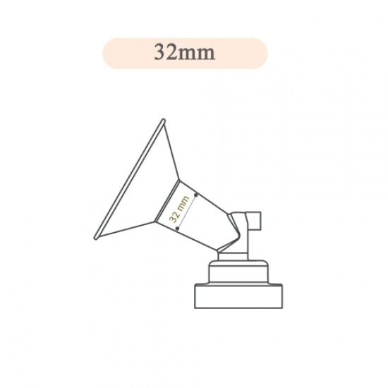 Spectra Breast Shield Set for 32 mm