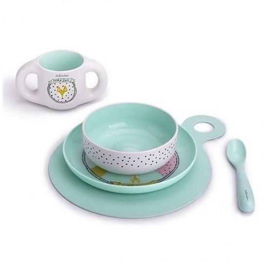 Suavinex Toddler Feeding Set - Blue