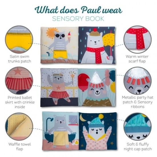 TAF Toys What does Paul wear book (12605)
