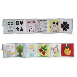 TAF Toys 3 in 1 baby book (12025)