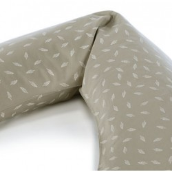 Replacement Cover for Theraline Maternity and Nursing Pillow - Dancing Leaves
