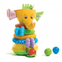 Tiny Love Elephant Musical Stack & Ball Game  (015954)
