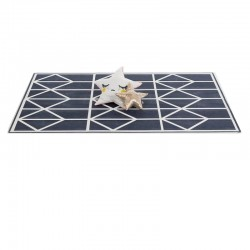 toddlekind Prettier Playmat - Nordic Petroleum (6 Tiles & 12 Edging Borders)