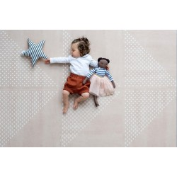 toddlekind Prettier Playmat - Earth Clay (6 Tiles & 12 Edging Borders)