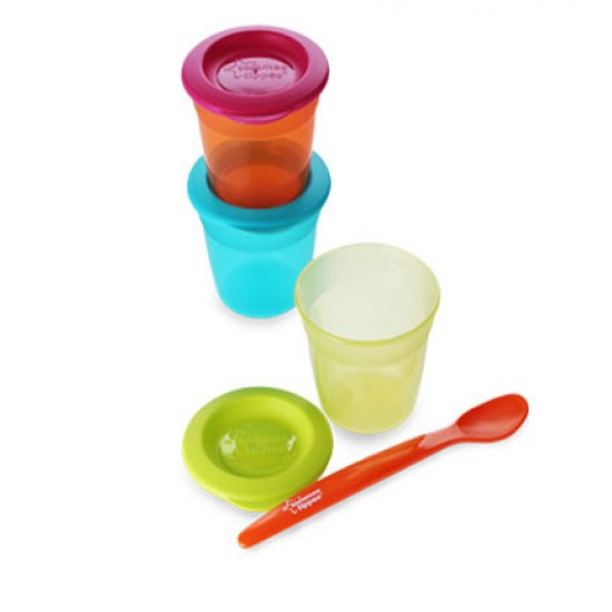 Tommee Tippee 3 food pots