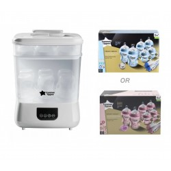 Tommee Tippee Electric Steriliser & Dryer with bottle set