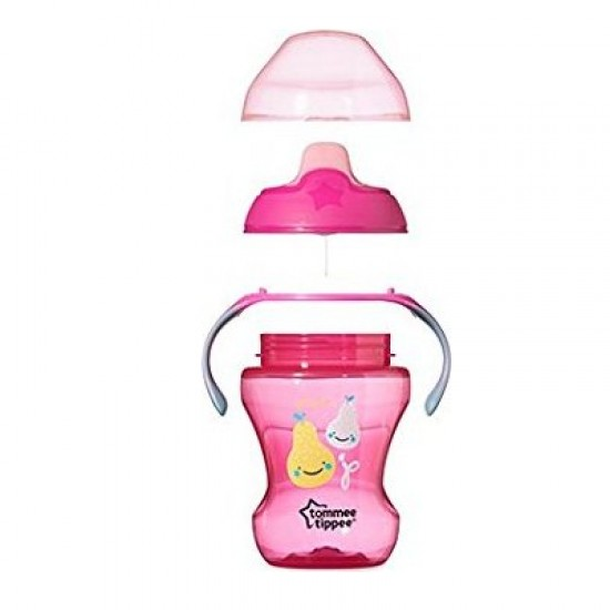 Tommee Tippee Sippee Cup, Pink - 7m+