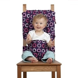 Totseat washable, squashable highchair - Bramble