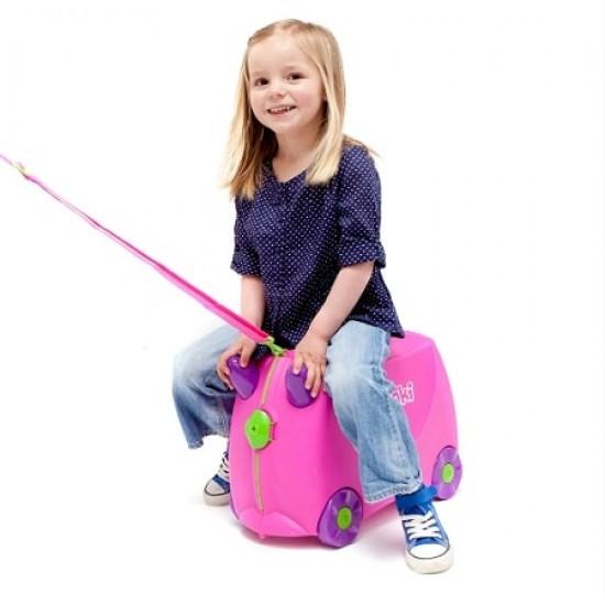 Trunki Luggage - Trixie Pink