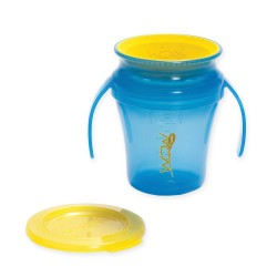 WOW Baby Translucent Spill Free Training Cup - Blue