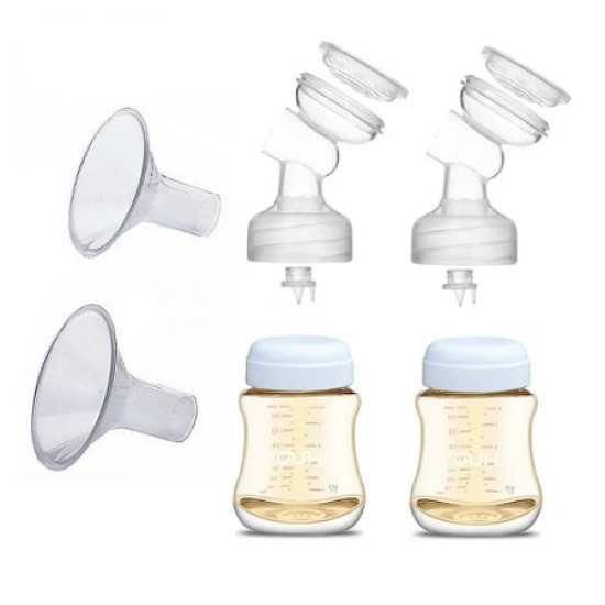 YOUHA The ONE Replacement Kit with bottles and breast shield