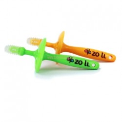Zoli Gummy Sticker - Orange and Green