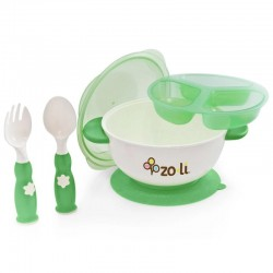 Zoli Stuck Suction Bowl Feeding Set
